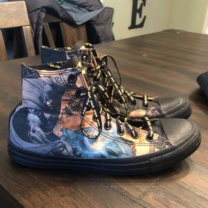 Converse DC Comics Batman Hi-Top Sneakers